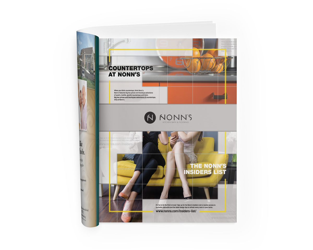 Nonn's 2017 Magazine Print Advertising - Countertops
