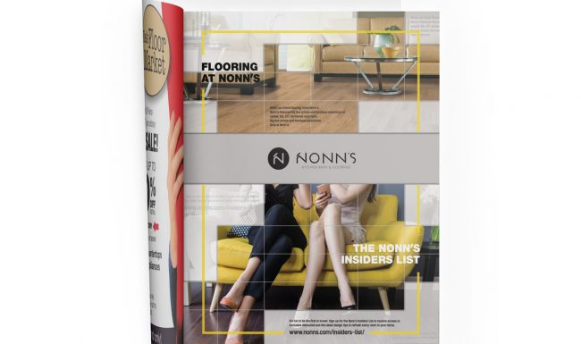 Print Advertising - Nonn's 2017 Flooring