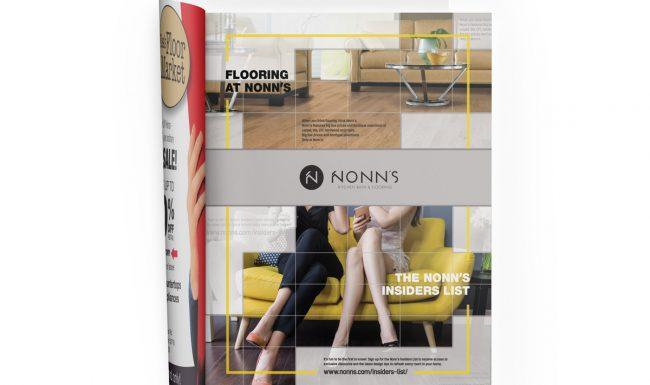Print Advertising - Nonn's 2017 Flooring