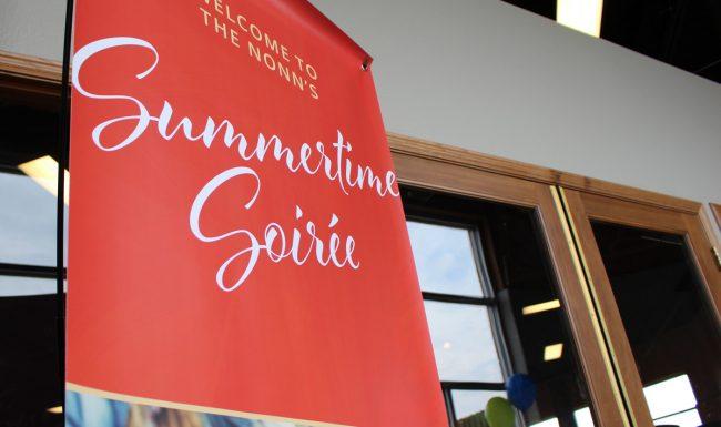 Event Signage Summertime Soirée - Graphic Design