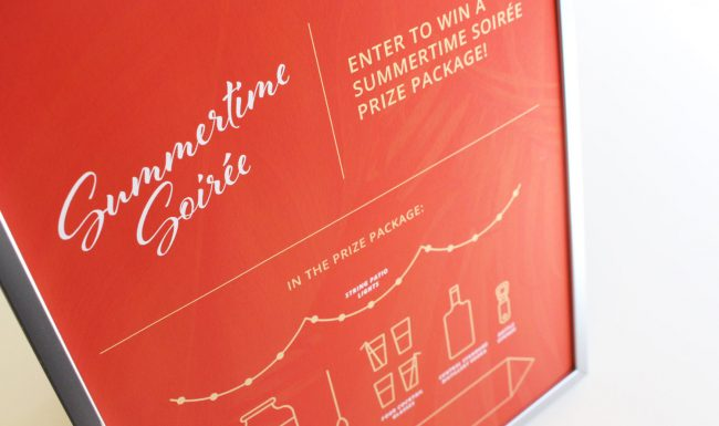 Event Advertising Summertime Soirée Giveaway - Nonn's