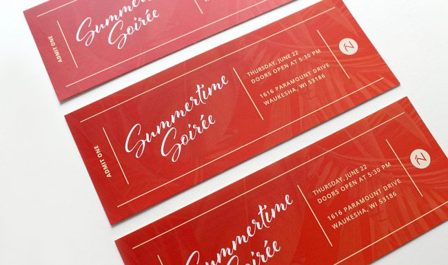 Graphic Design Summertime Soirée Tickets
