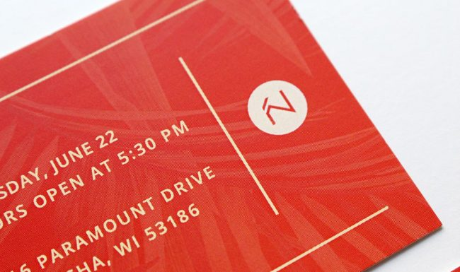 Ticket Graphic Design Detail Summertime Soirée