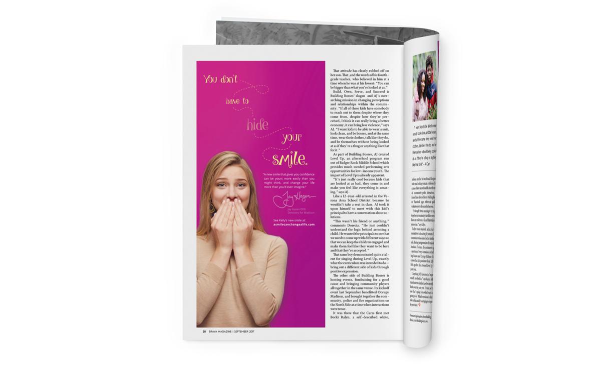 Dentistry for Madison - Magazine Advertisement 1