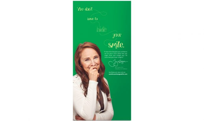 Print Advertisement - Dentistry for Madison - Rebecca