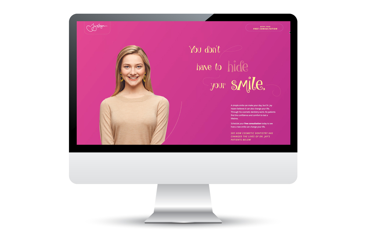Web Design - Dentistry for Madison Microsite