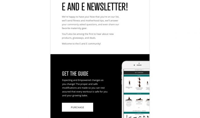 Expecting & Empowered Email Design - Welcome