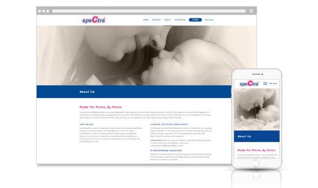 Spectra Website Design & Development - 4
