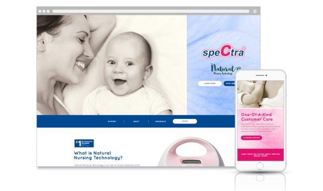 Spectra Website Design & Development - 2