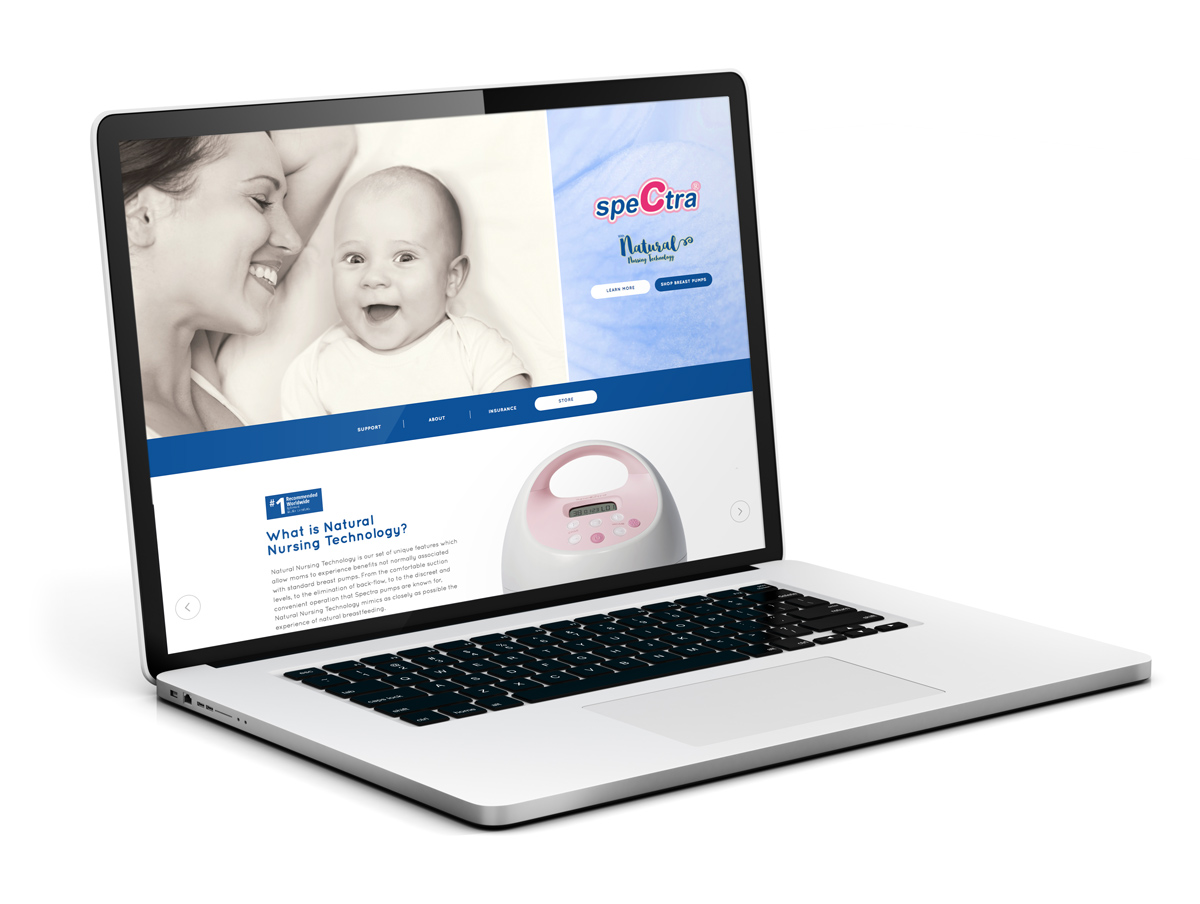 Spectra Website Design & Development