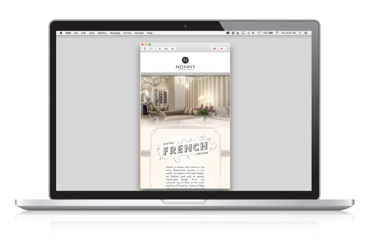 Insiders List - Divine French Design - Email Marketing
