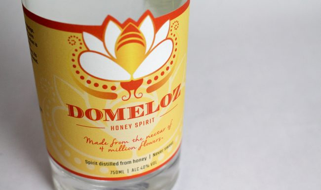 Domeloz - Bottle Label by Pop-Dot Marketing