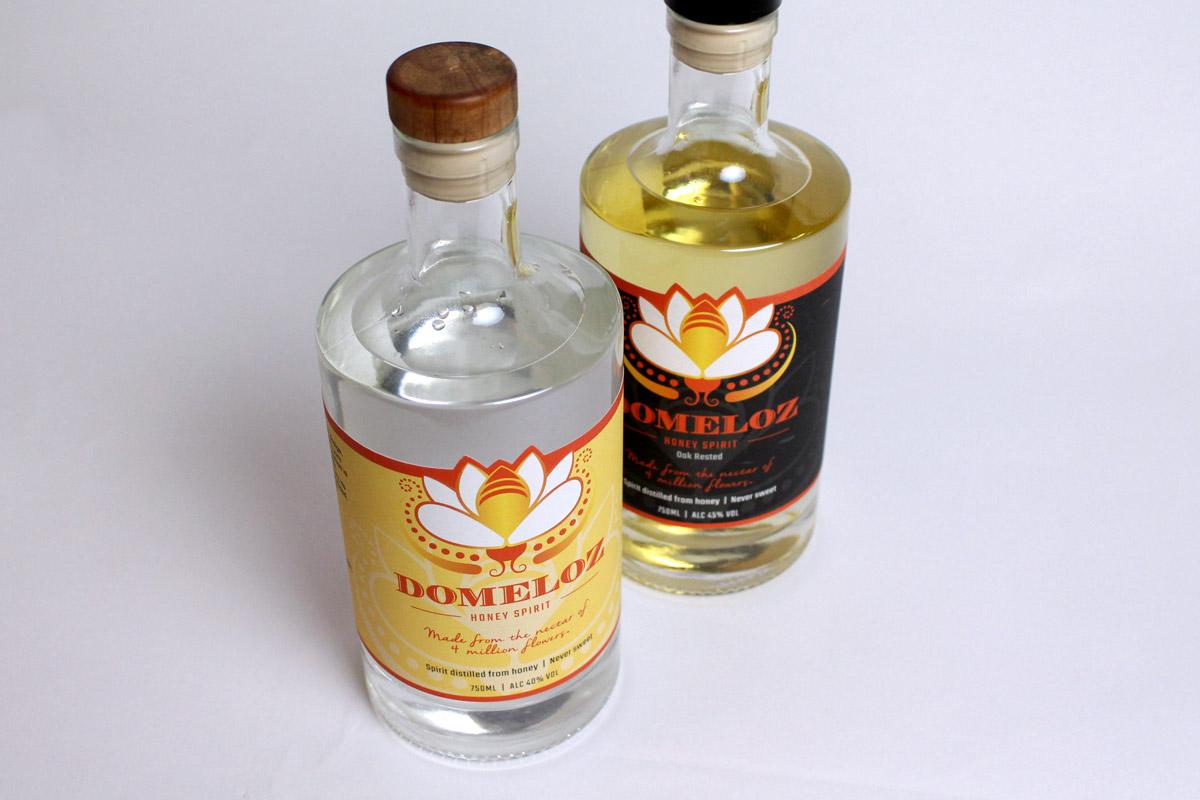 Domeloz Bottles - Label Designs