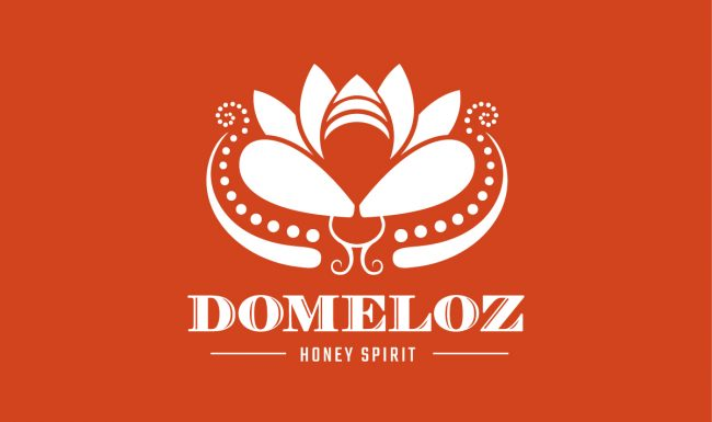 Domeloz - White Logo Design