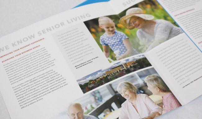 Erdman Senior Living Brochure Design