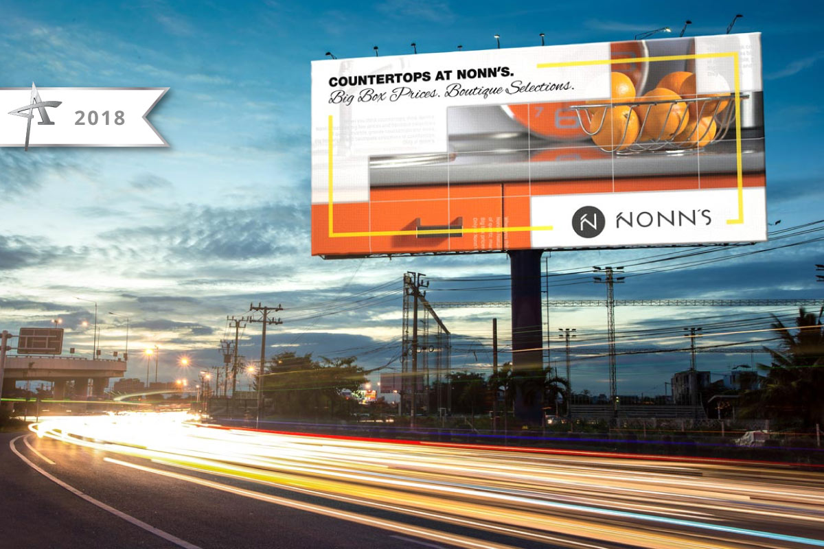 Nonn's 2017 Campaign Billboard Advertising - ADDY