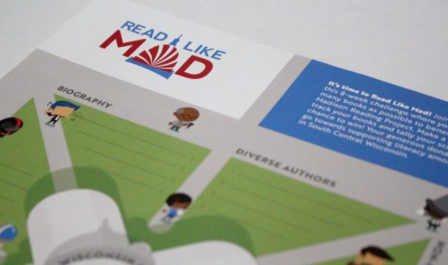 Read Like Mad - Game Board Poster