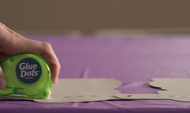 Party Perfecting Glue Dots Television Advertisement