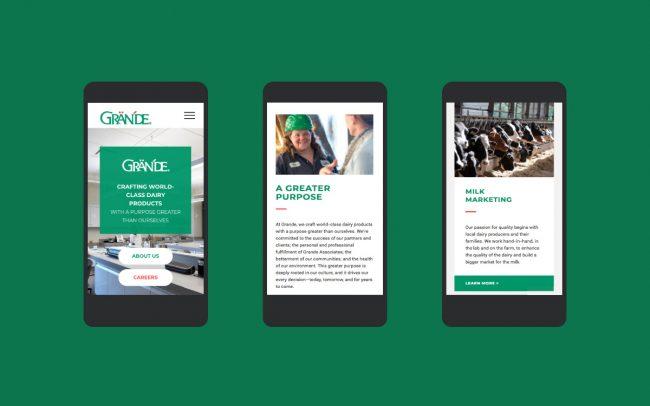 Grande Responsive Website Design