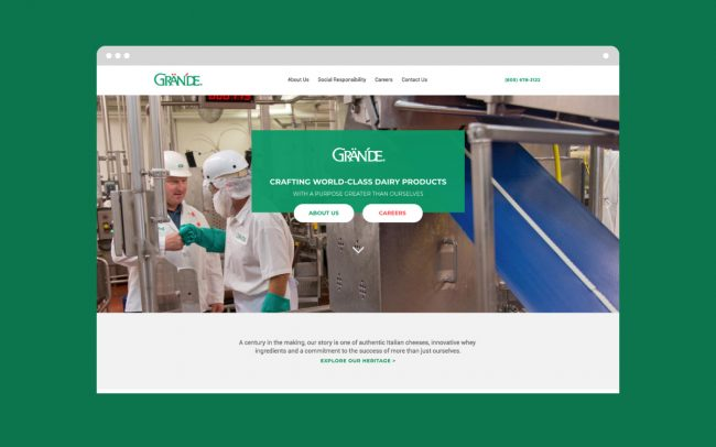 Grande Website Design & Development