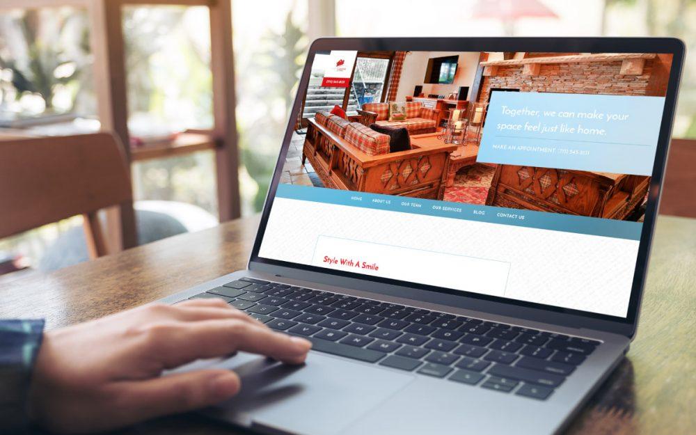 Lakeside Living Design Website