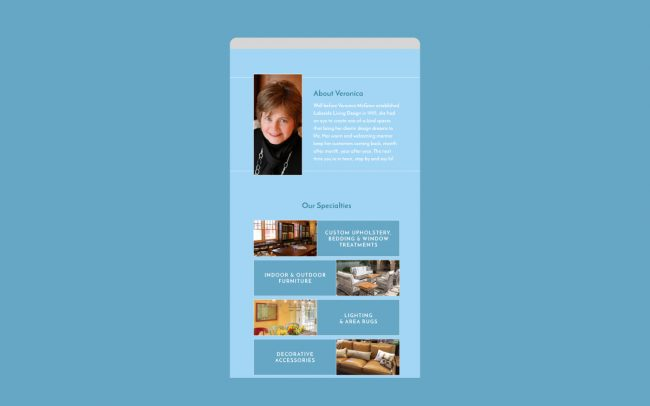 Lakeside Living Email Design 2