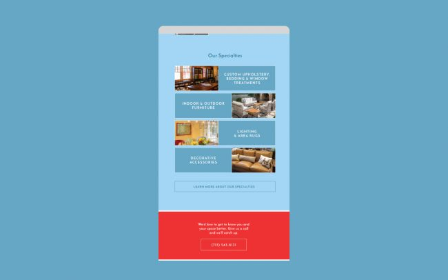 Lakeside Living Email Design - 3