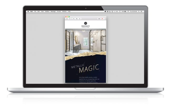 Metallic Magic Email Marketing