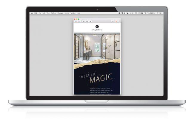 Metallic Magic Email Marketing