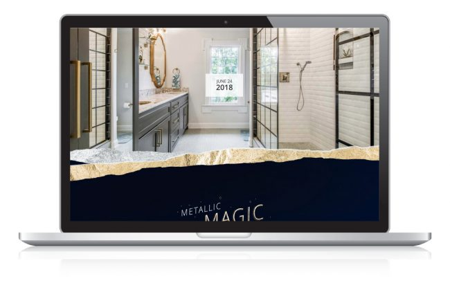 Metallic Magic Landing Page