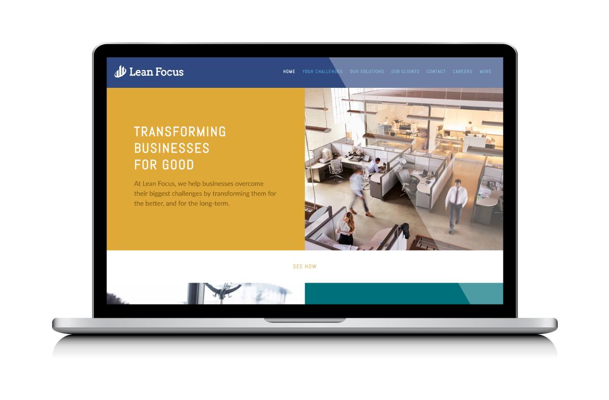 Lean Focus Website Development