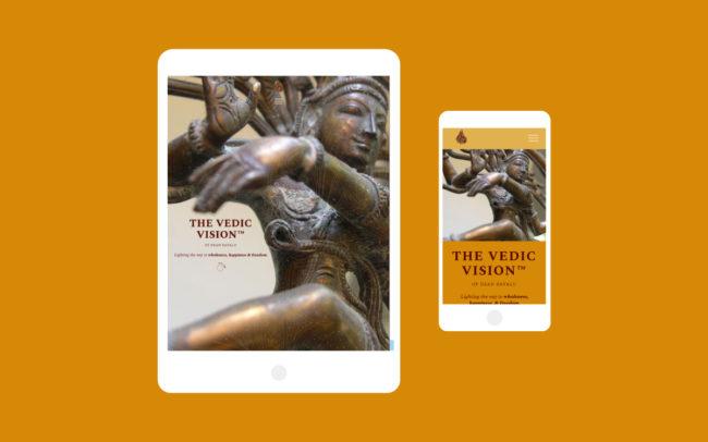 Dean Dayalu Mobile Website Design