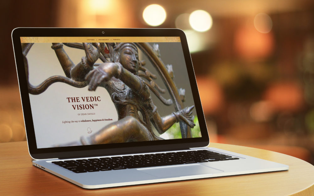 Dean Dayalu Website Design