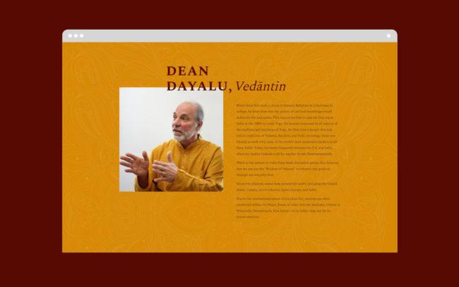 Dean Dayalu - Web Design 5