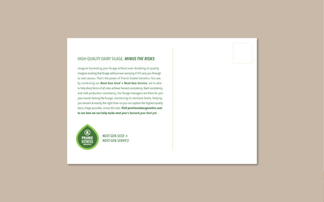 Prairie Estates Mailer Design B