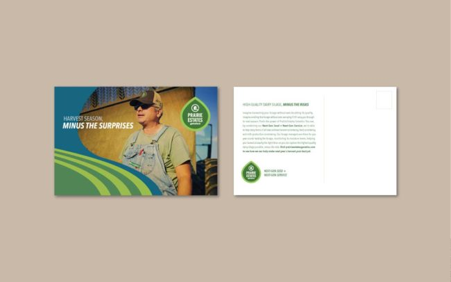 Prairie Estates Mailer Designs