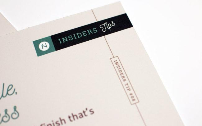 Insiders Store Tips Detail