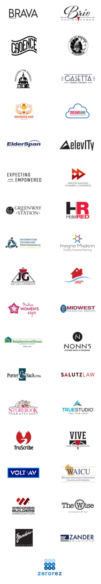 Regional & Local Brands We've Worked With - Mobile